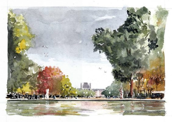 grand bassin des tuileries